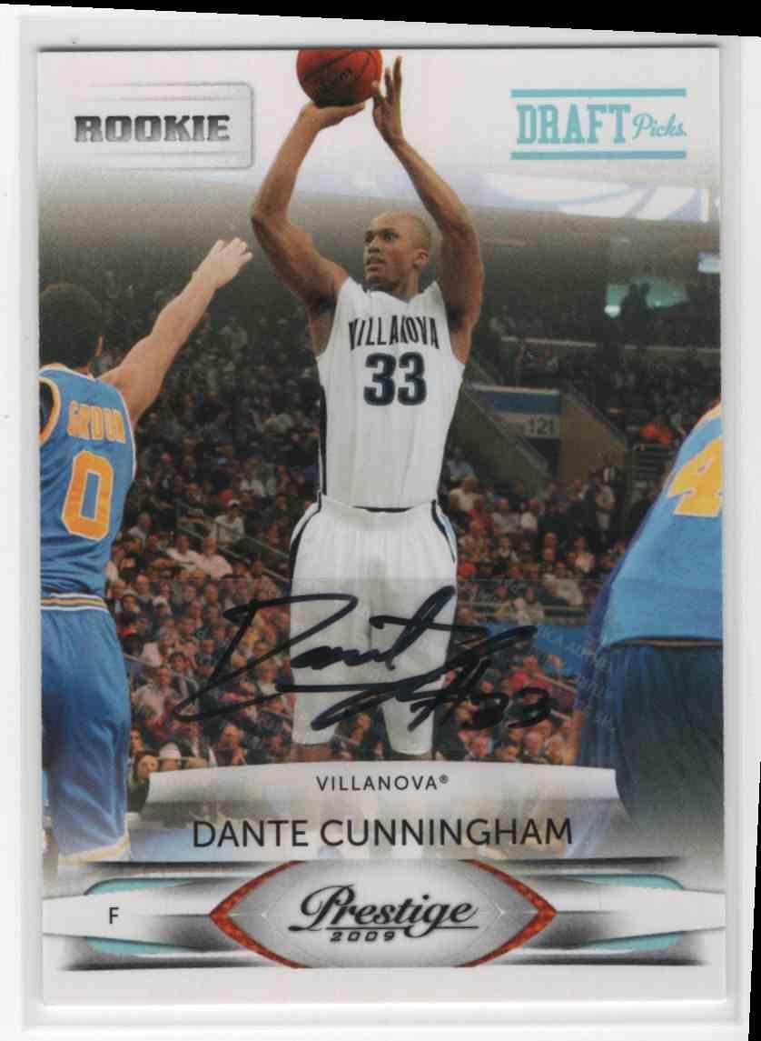 2009-10 Prestige Draft Picks Dante Cunningham #183 on