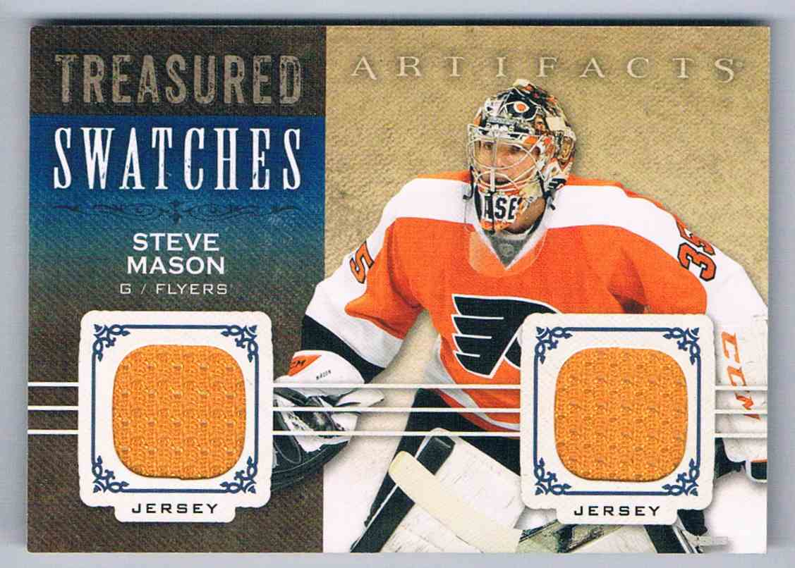 2014-15 Artifacts Treasured Swatches Steve Mason #TS-SM card front image