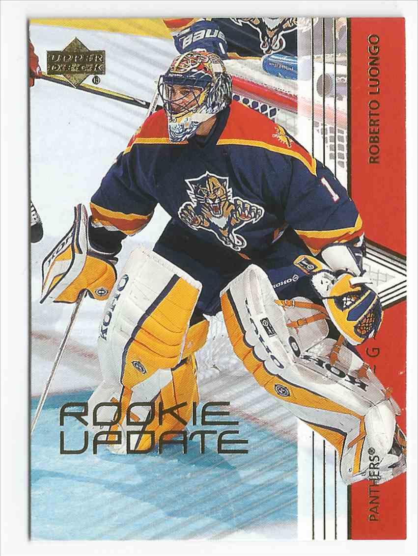 2004 05 Upper Deck Rookie Update Roberto Luongo Rookie