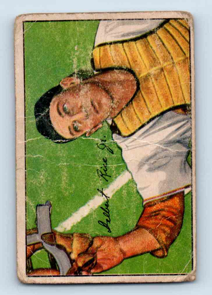 1952 Bowman Del Rice #107 card front image