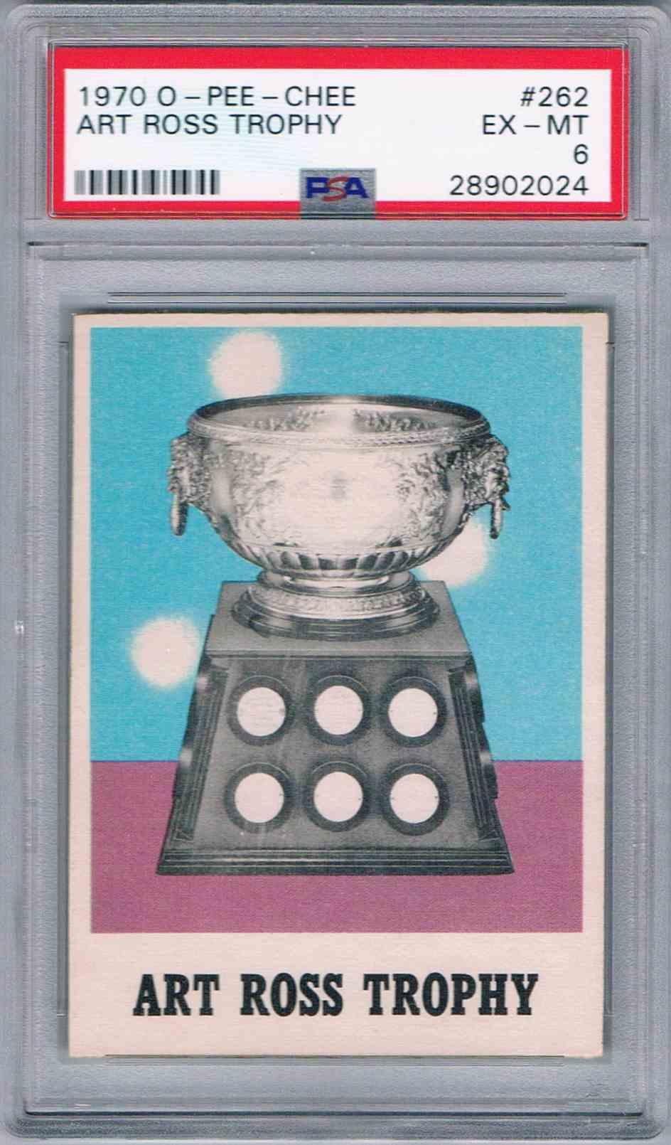 1970-71 O-Pee-Chee OPC Art Ross Trophy #262 on Kronozio