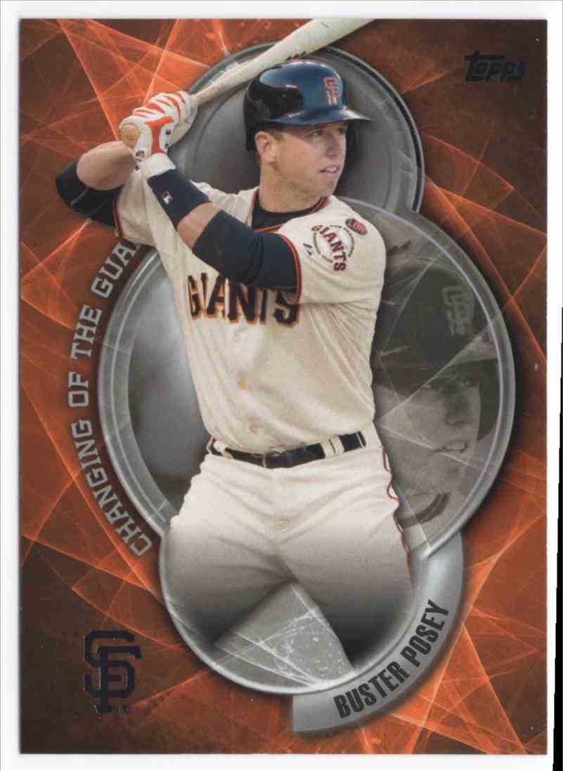 2016 Topps Changing Of The Guard Buster Posey #CTG4 on