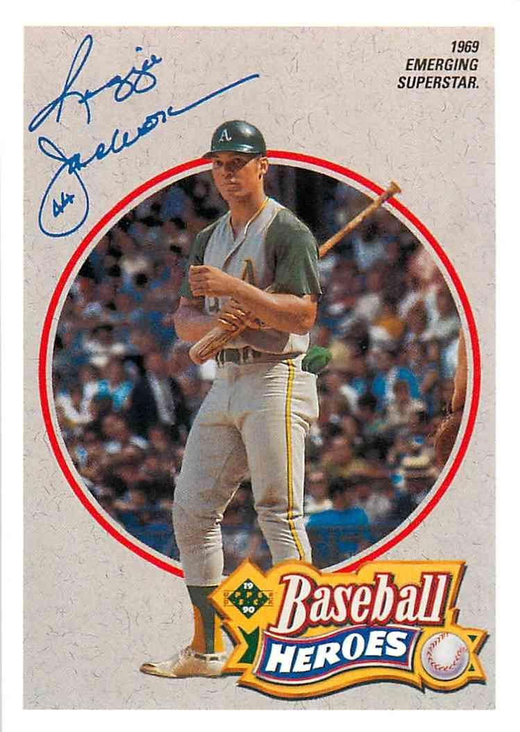 1992 Upper Deck Baseball Heroes Reginald Martinez Jackson 1 Of 9 On