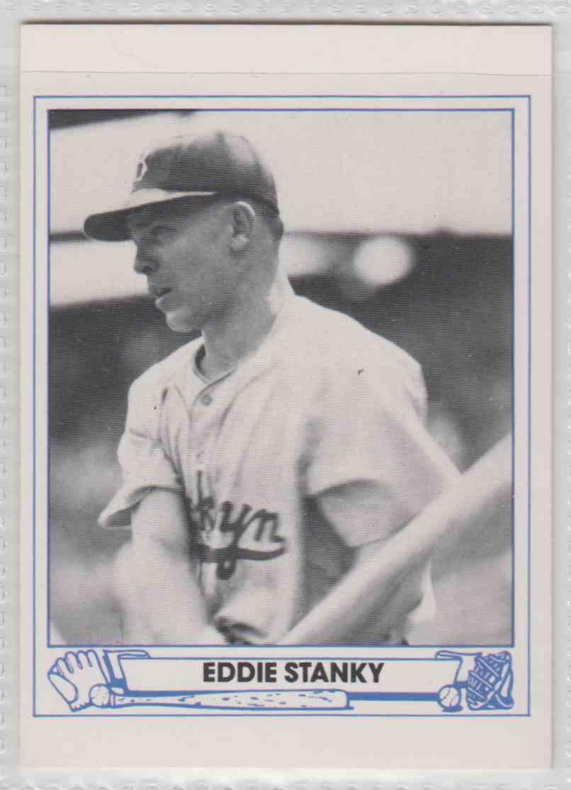 1983 Tcma Playball 1944 Eddie Stanky 41 On Kronozio