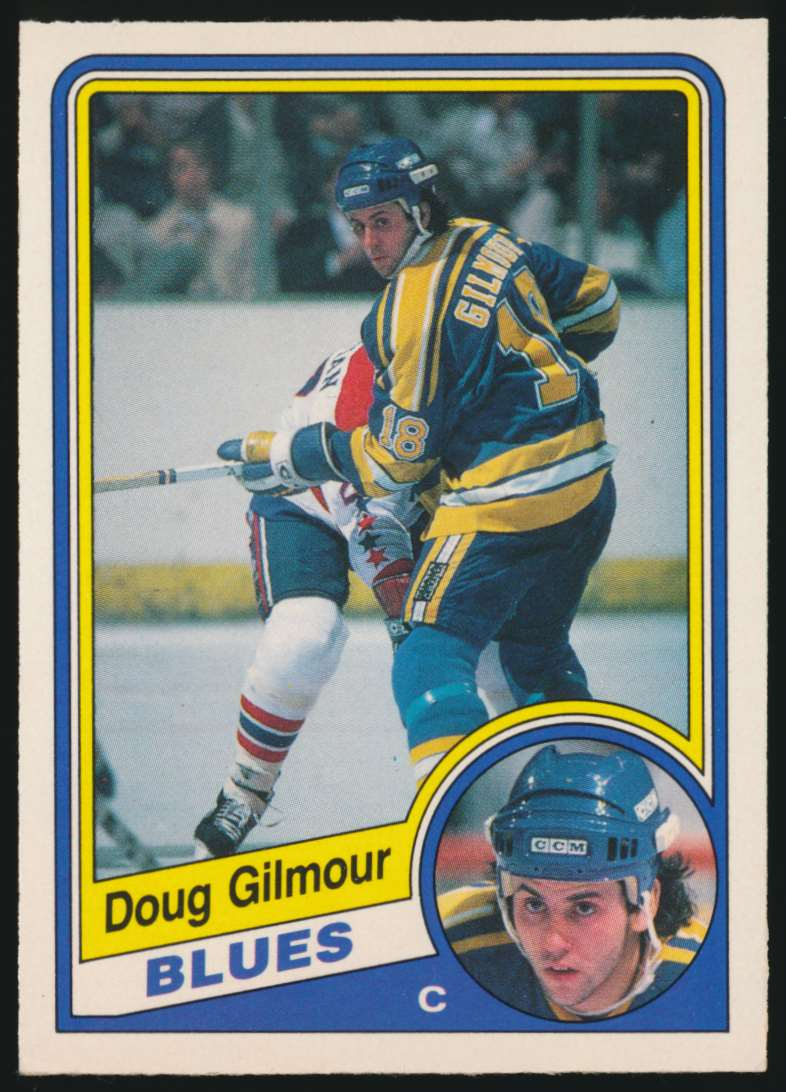 1984-85 OPC Doug Gilmour #185 card front image