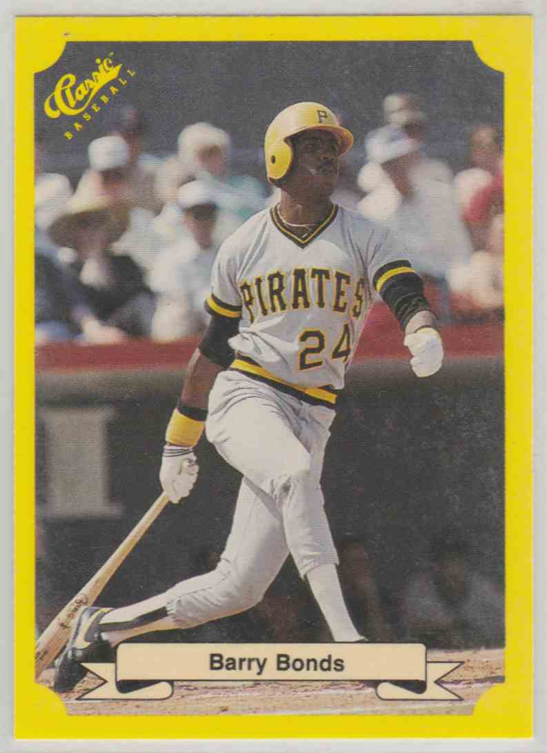 1987 Classic Barry Bonds #113 card front image