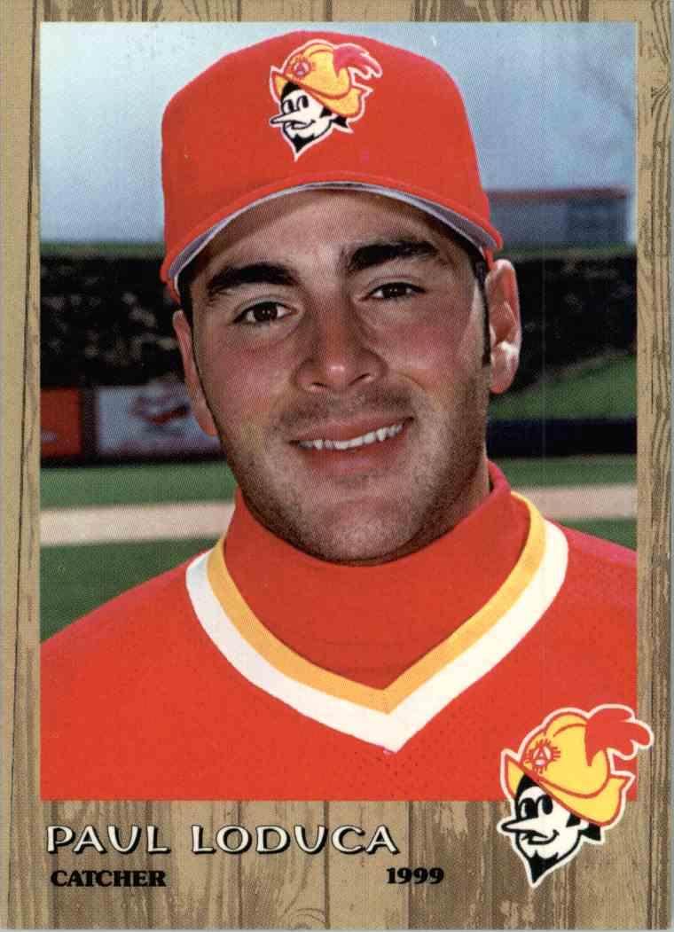 1999 Grandstand Albuquerque Dukes Paul Loduca 31 On