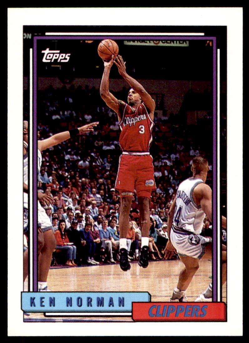 1992 93 Topps Ken Norman 7 on Kronozio