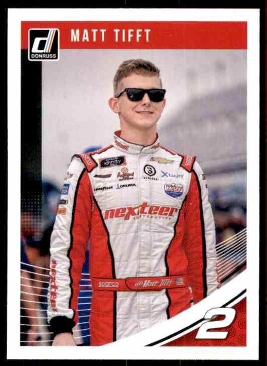 2019 Donruss Matt Tifft #59 card front image