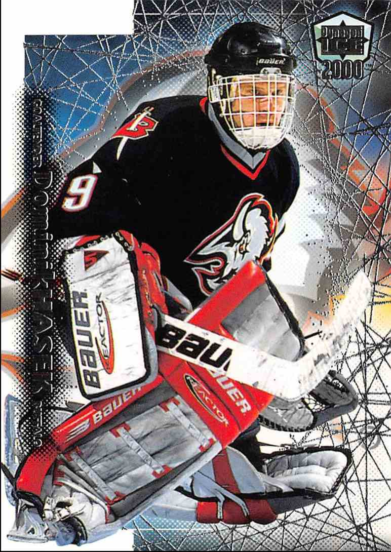 1999-00 Pacific Dynagon Ice Dominik Hasek #31 card front image