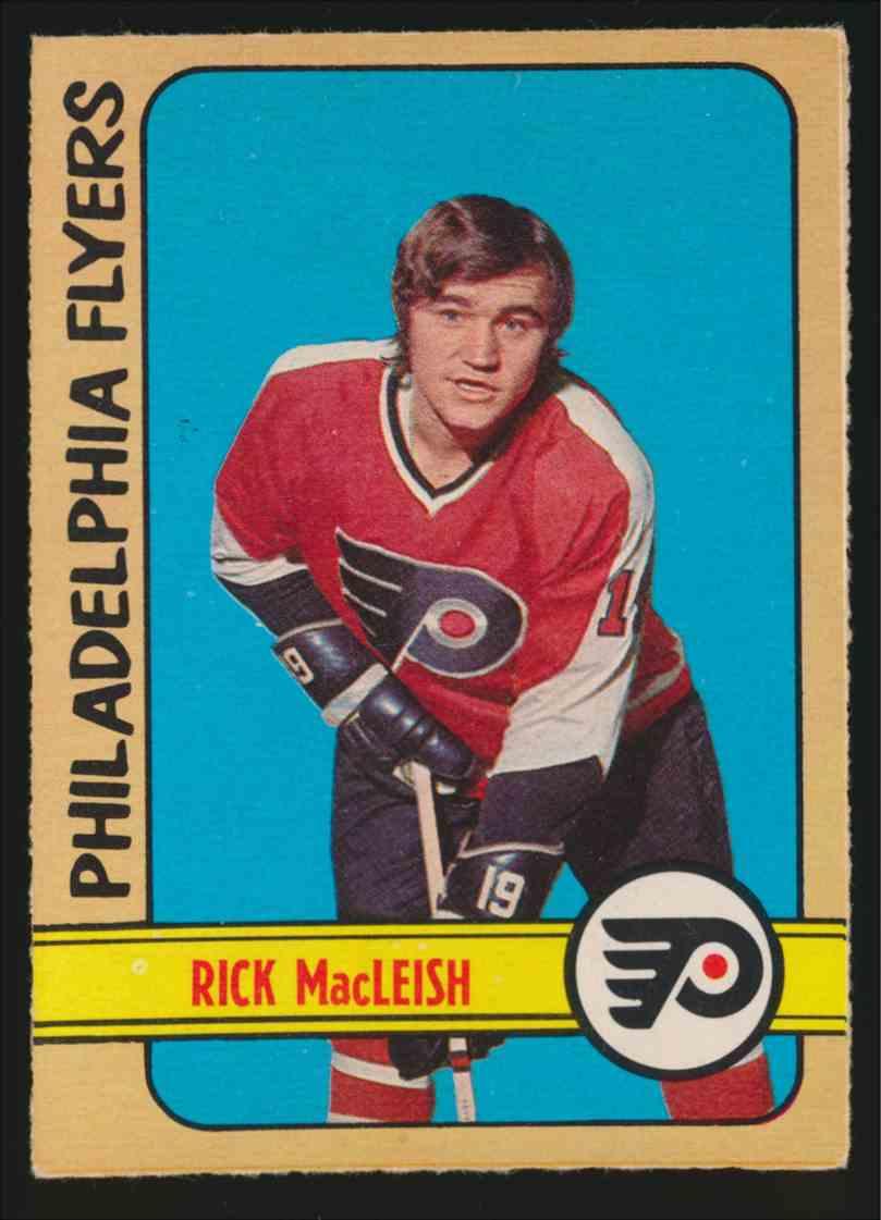 1972-73 0-Pee-Chee Rick MacLeish #105 card front image