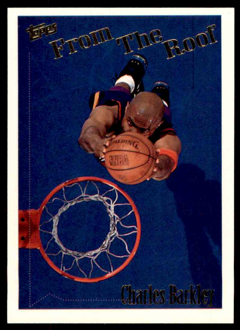 1994-95 Topps From The Roof Charles Barkley #260 card front image