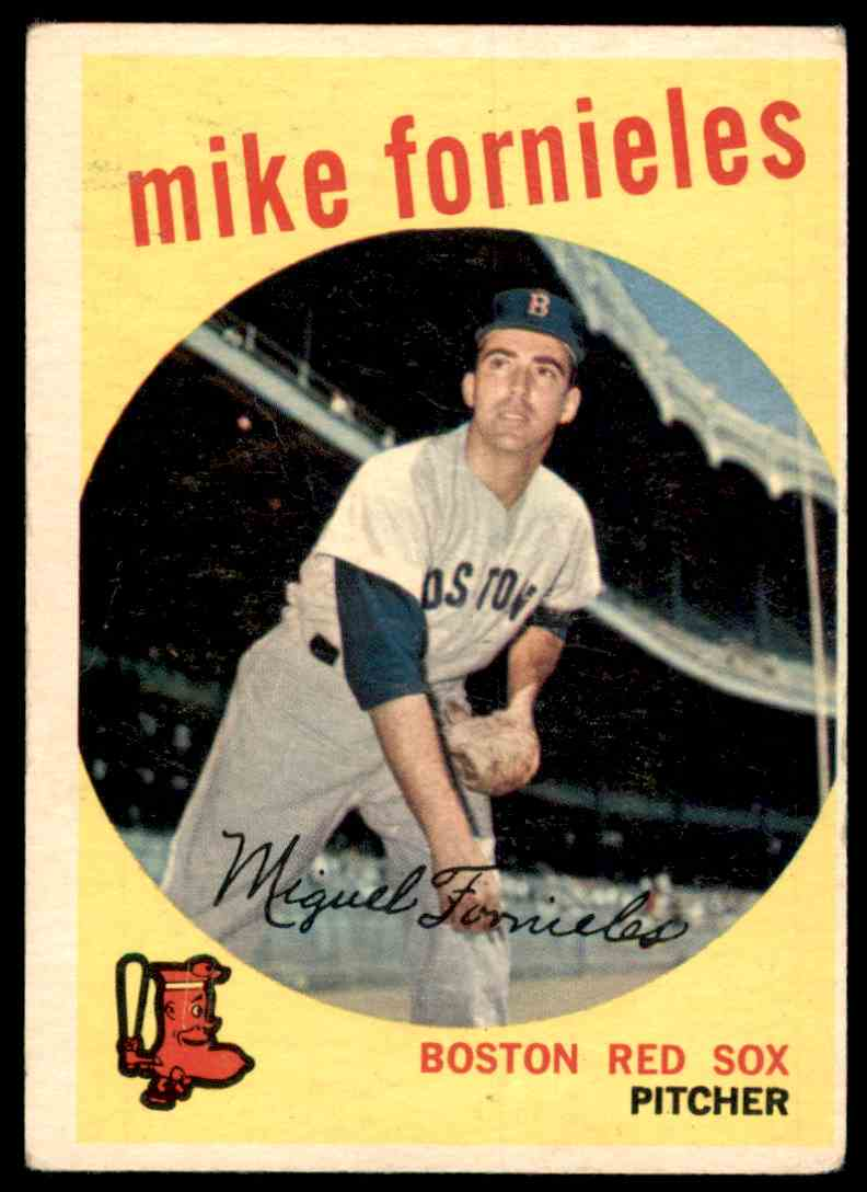 1959 Topps Mike Fornieles #473 card front image