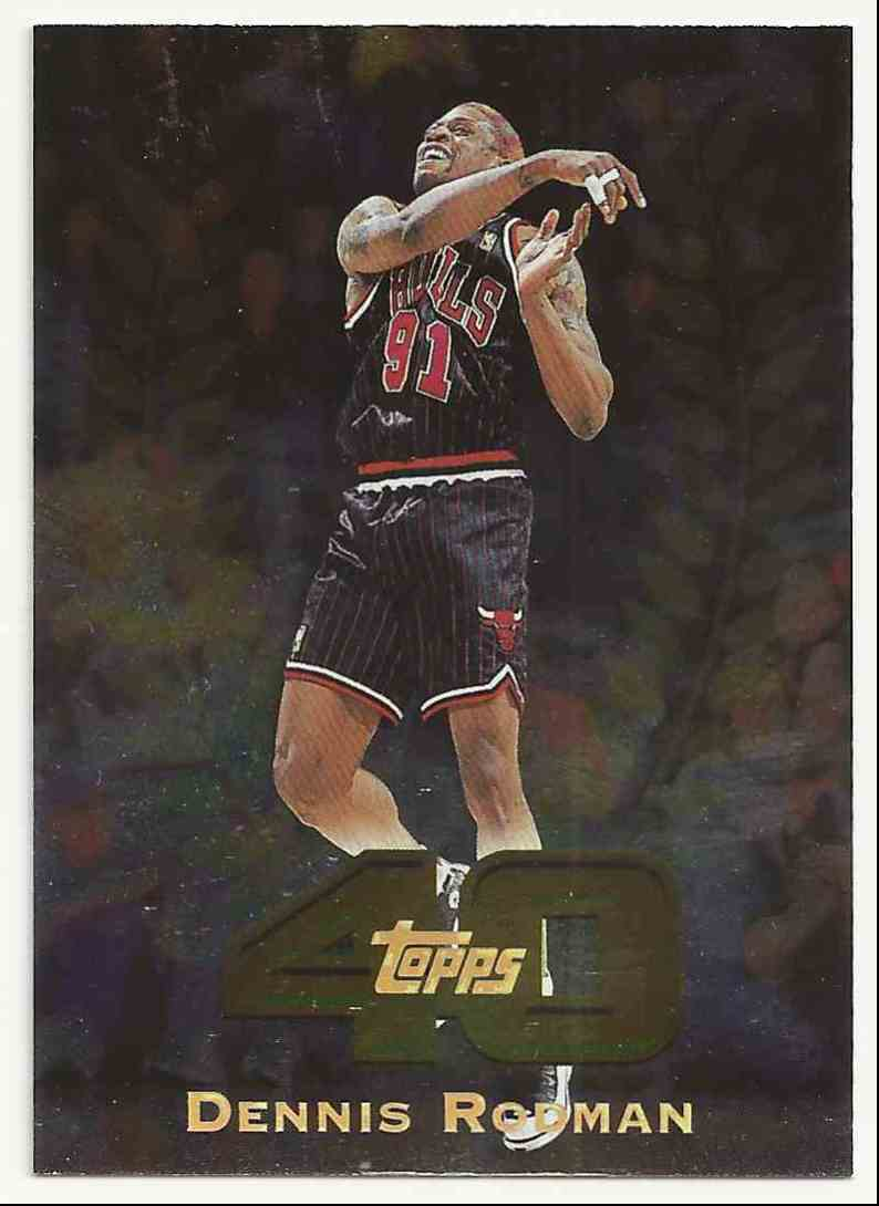 1997-98 Topps Topps 40 Dennis Rodman #34 card front image