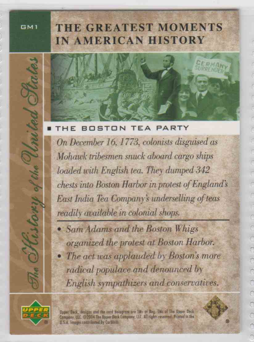 a history of the boston tea party a boiling point in american history Their resentment reached a fever pitch in december 1767, when the men of boston dressed up as indians, openly purchased smuggled tea and threw hundreds of pounds of british tea into the port these events went down in history as the boston tea party, and precipitated the american revolution.