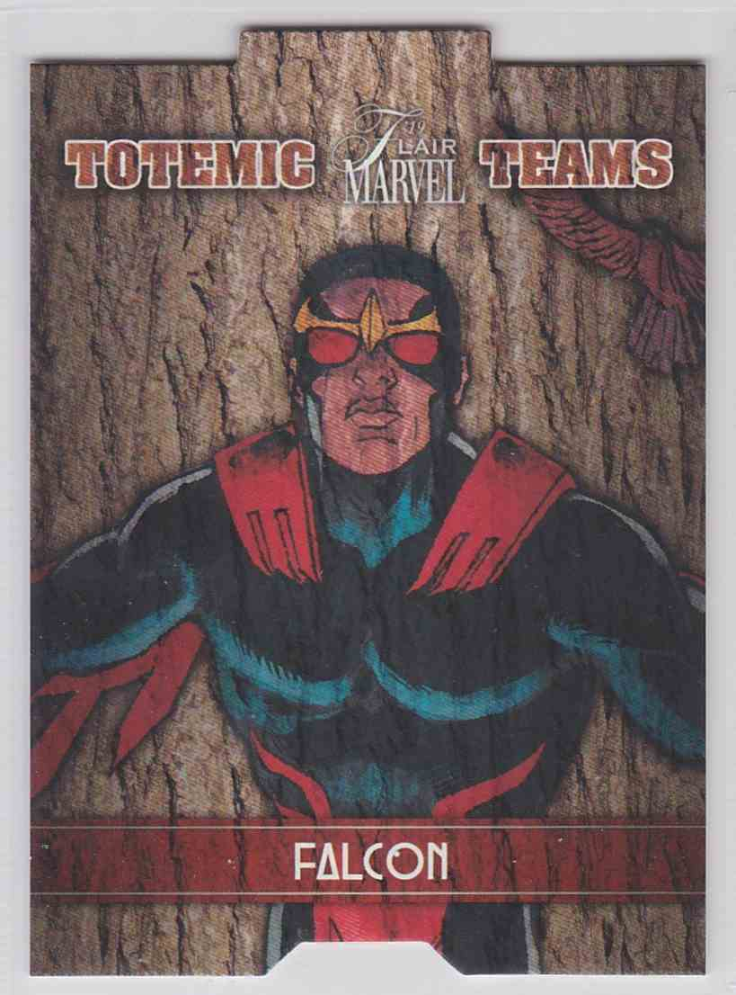 2019 Marvel Flair Totemic Teams Falcon #TT3 card front image