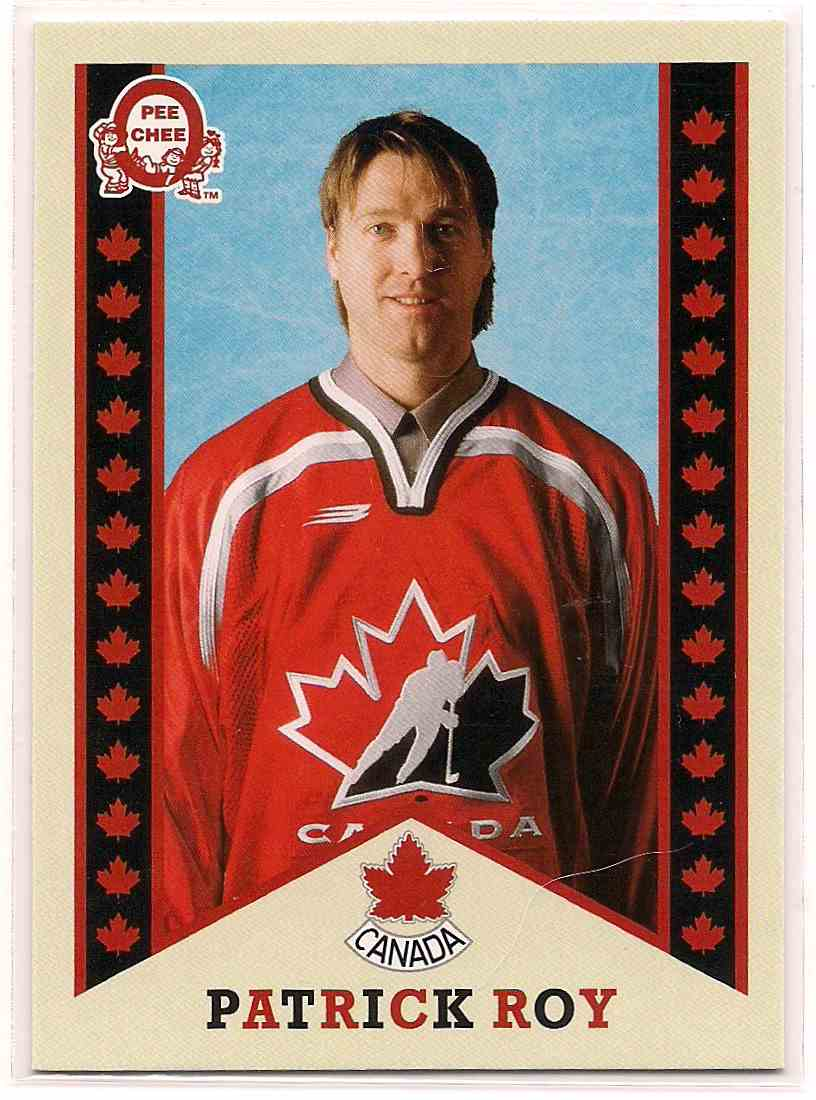 2017-18 Upper Deck Team Canada Retro Patrick Roy #R-9 card front image