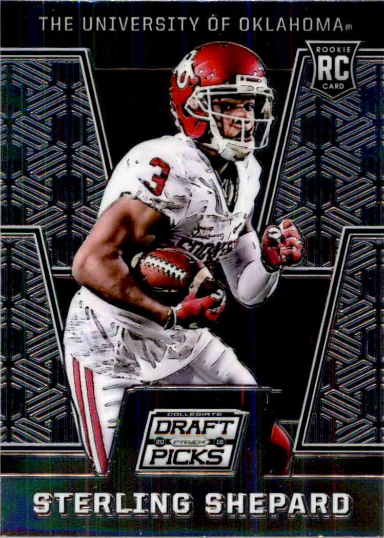 2016 Prizm Draft Picks Rookie Sterling Shepard 145 On