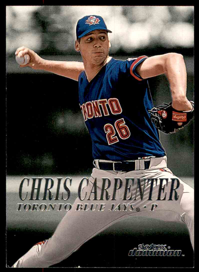 2000 SkyBox Dominion Chris Carpenter #133 card front image