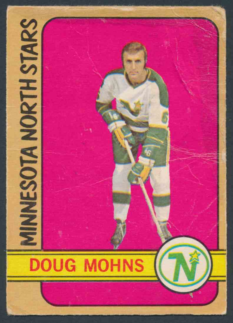 1972-73 O-Pee-Chee Doug Mohns #75 card front image