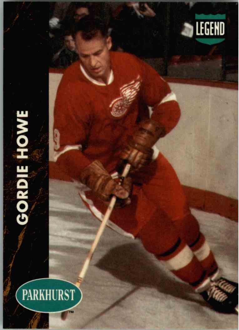 1991-92 Pro Set Parkhurst Gordie Howe #PHC1 card front image