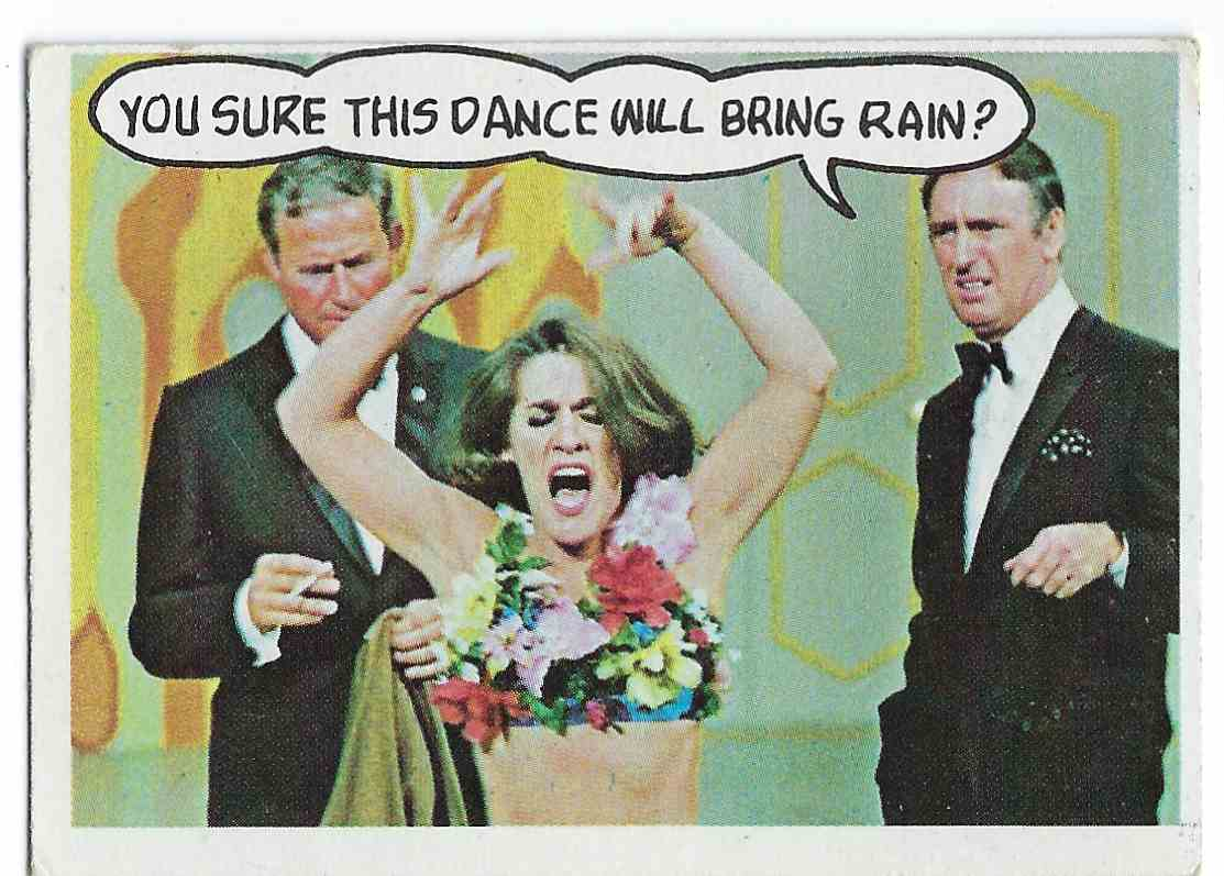 1968 Topps Laugh-In You Sure This Dance Will Bring Rain? #15 card front image