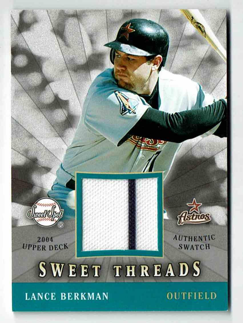 2004 Upper Deck Sweet Spot Lance Berkman #LB card front image