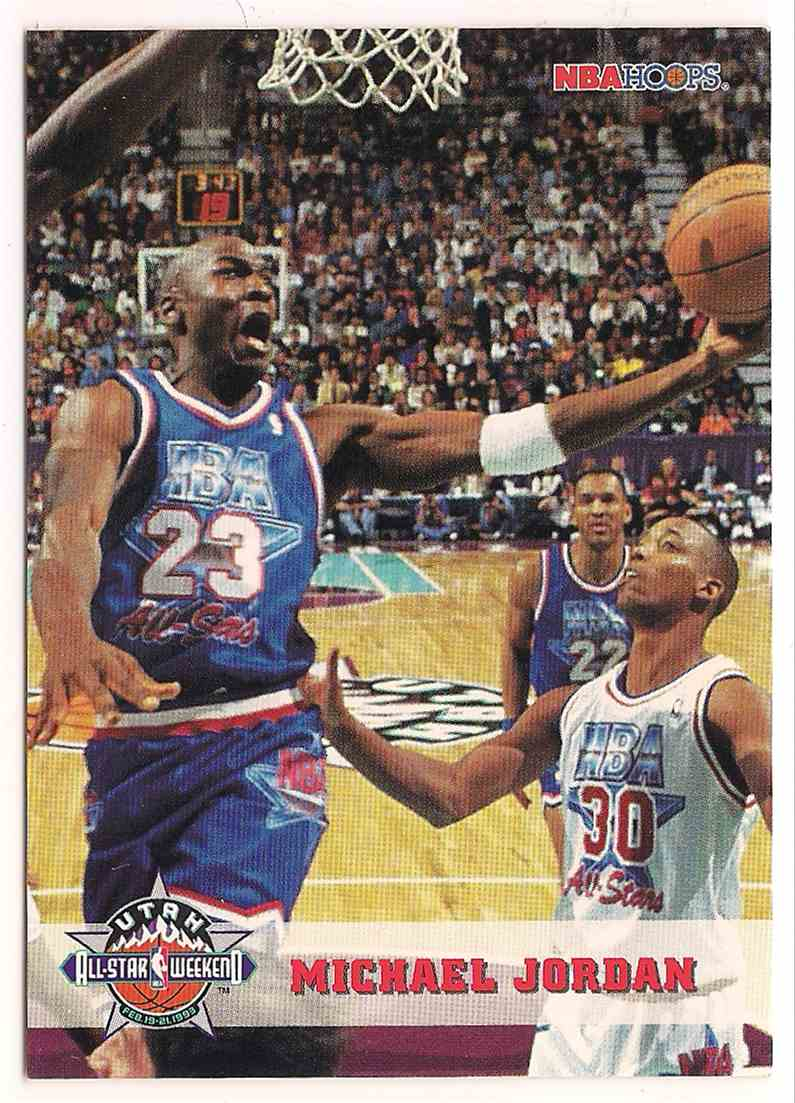 1993-94 NBA Hoops Michael Jordan #257 card front image