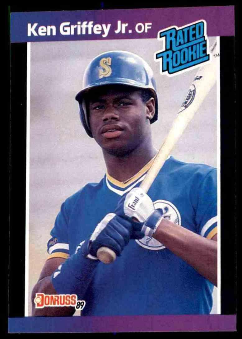 1989 Donruss Ken Griffey, JR. #33 card front image