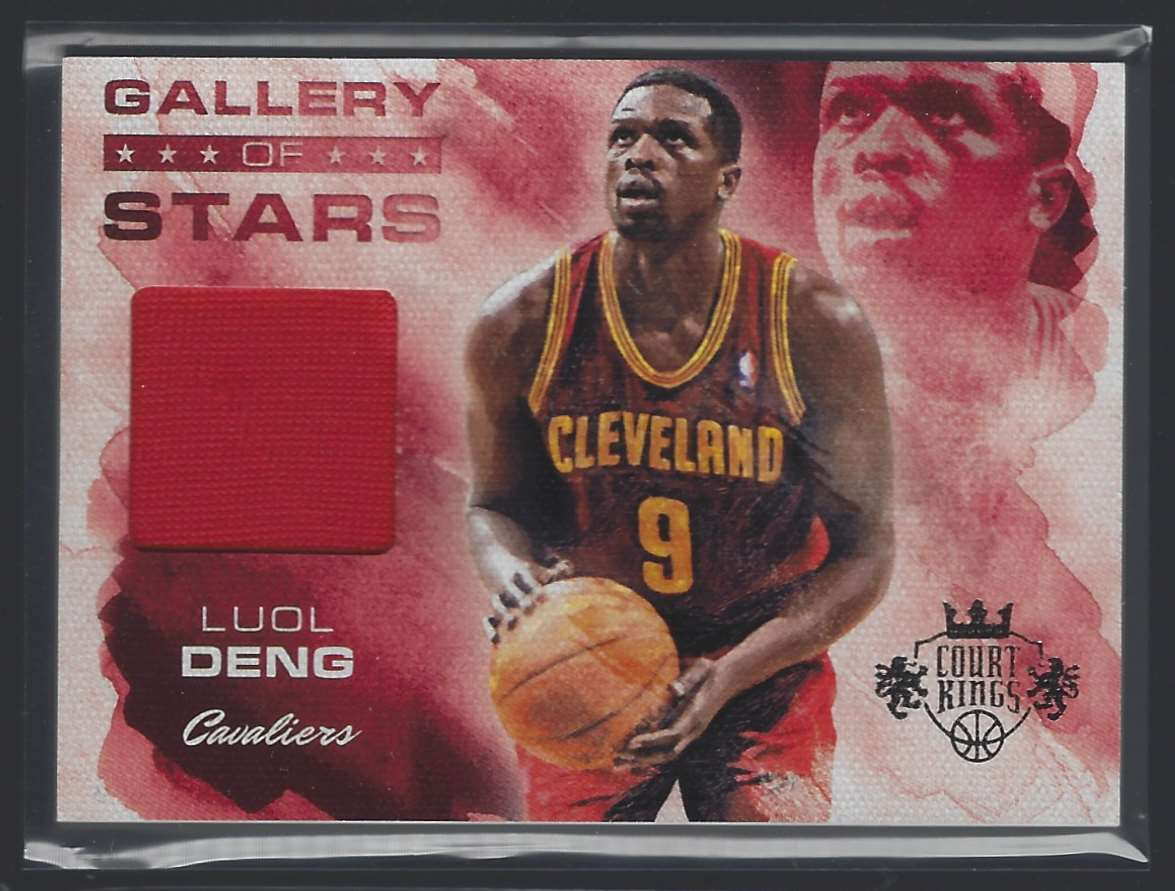 2013-14 Court Kings Gallery Of Stars Jerseys Luol Deng #1 card front image