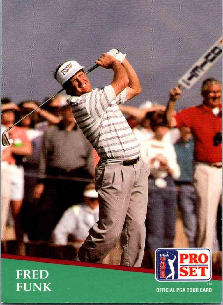 1991 Pro Set Fred Funk #54 card front image