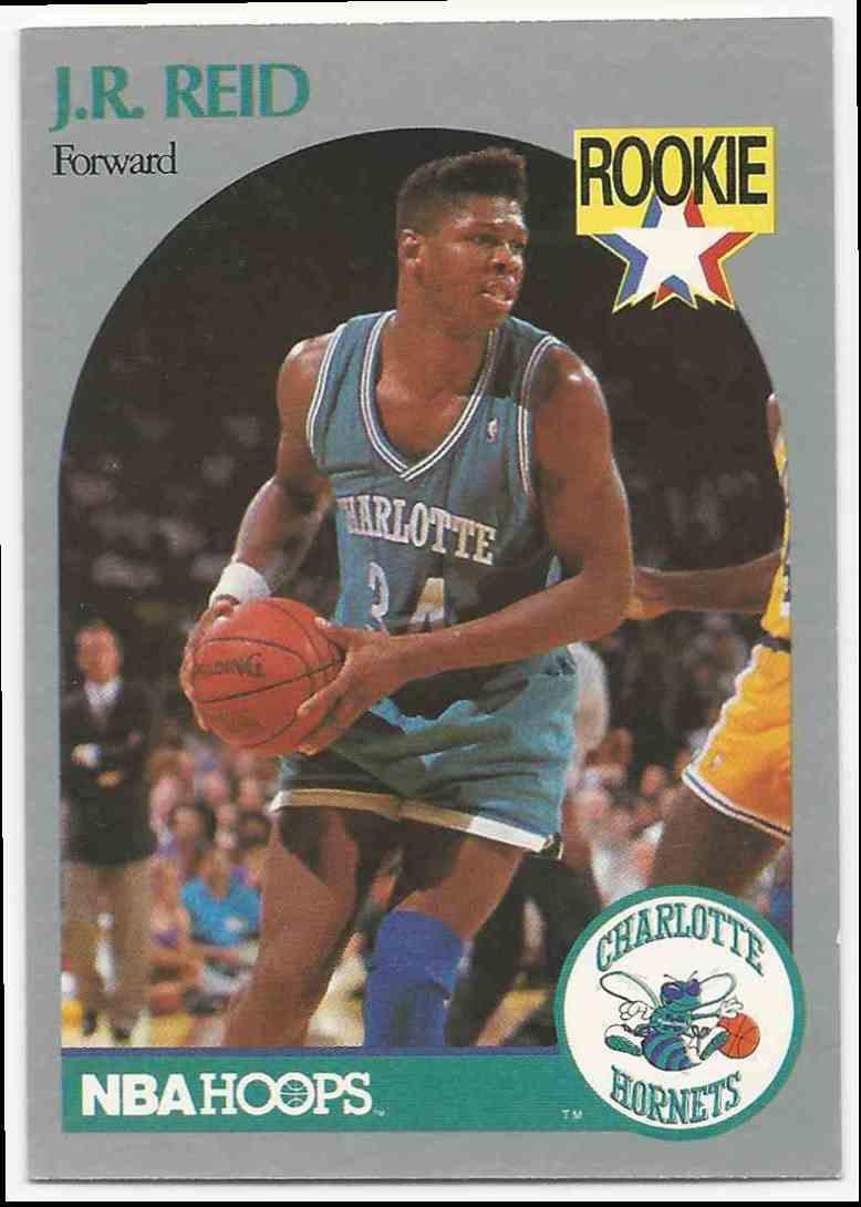 """1990-91 NBA Hoops J.R. """"Herman"""" Reid #57 card front image"""