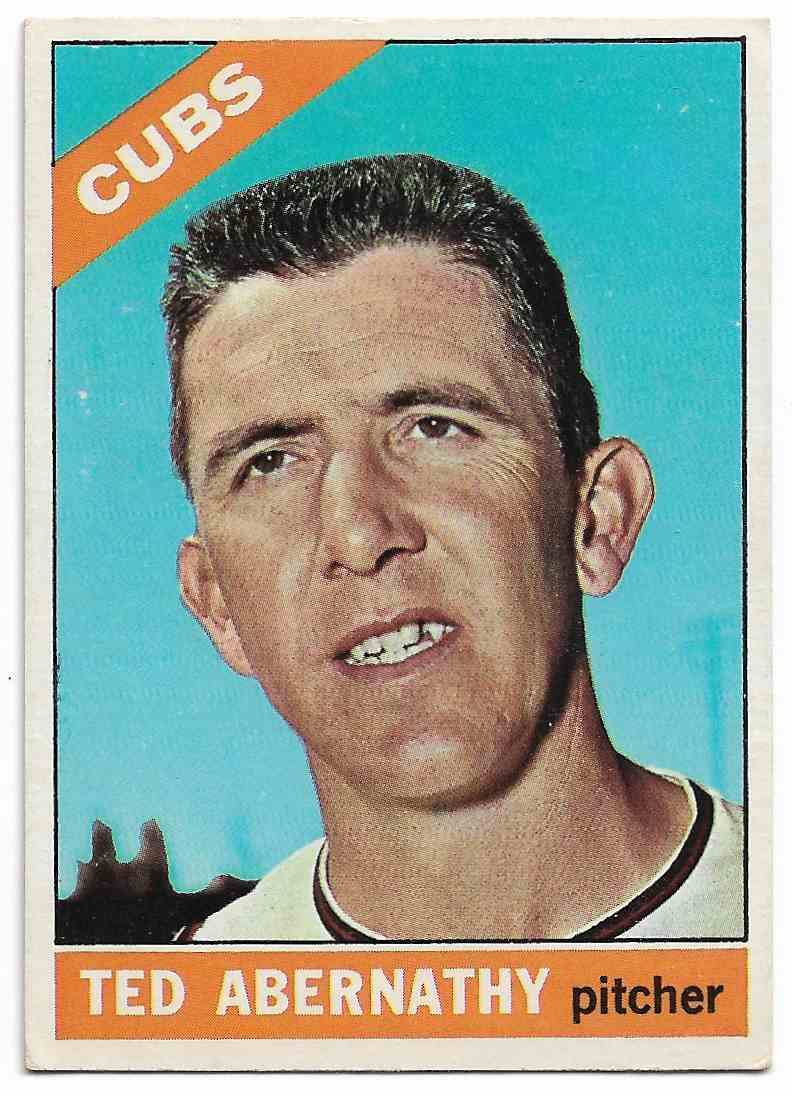 1966 Topps Ted Abernathy #2 card front image