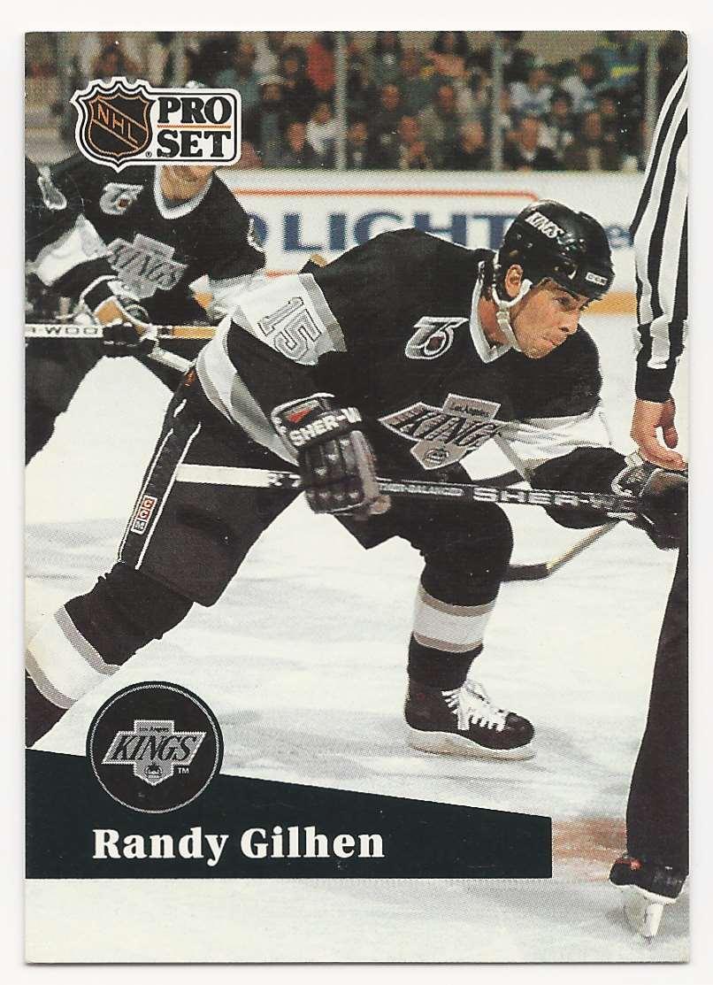 1991-92 Pro Set Randy Gilhen #403 card front image