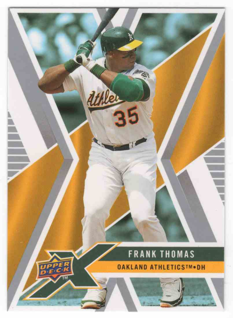 2008 Upper Deck X Frank Thomas #73 card front image