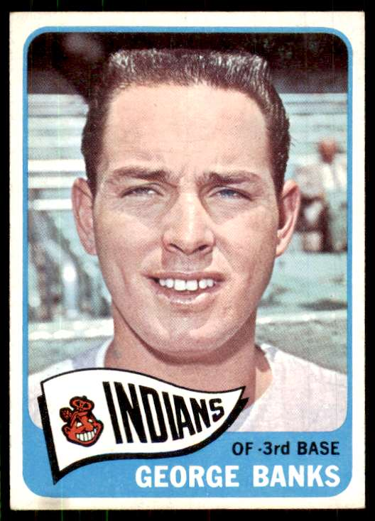 1965 Topps (B7-5C) George Banks #348 card front image