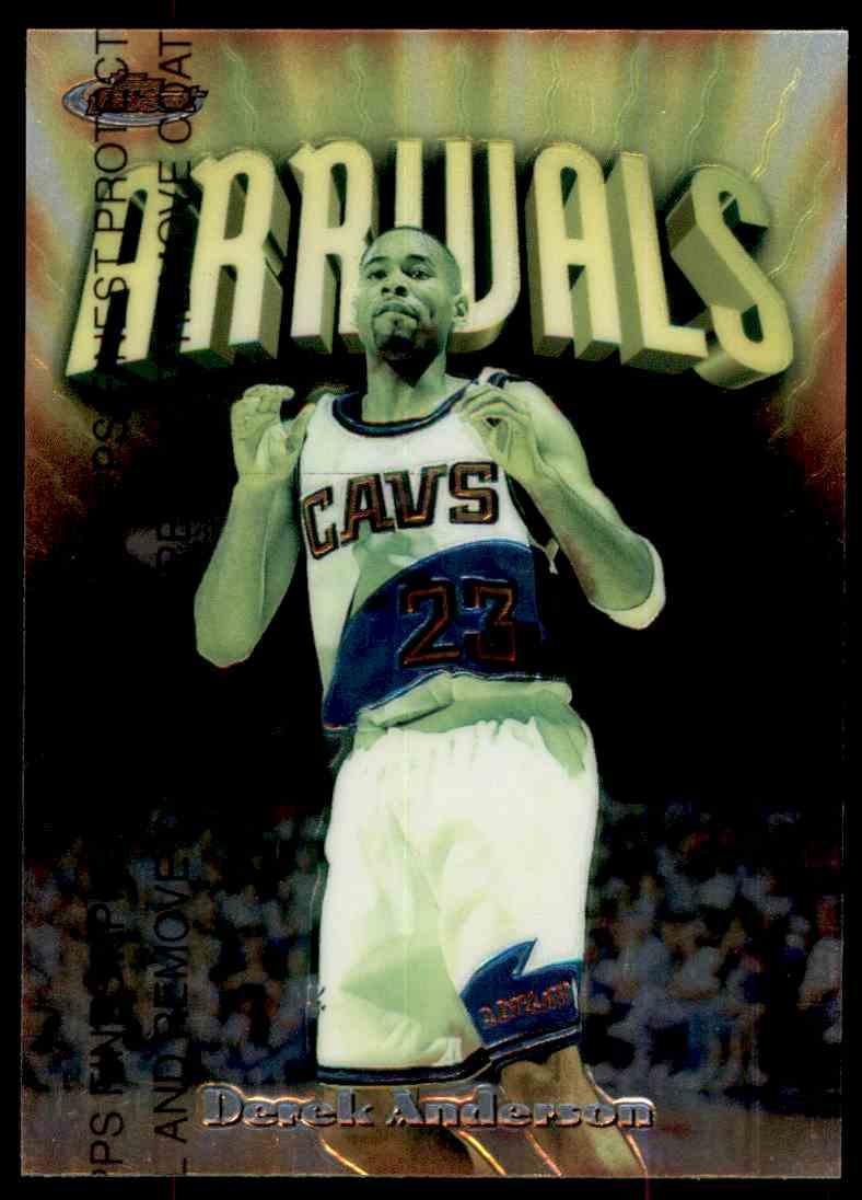 1997-98 Topps Finest Arrivals Derek Anderson #228 card front image