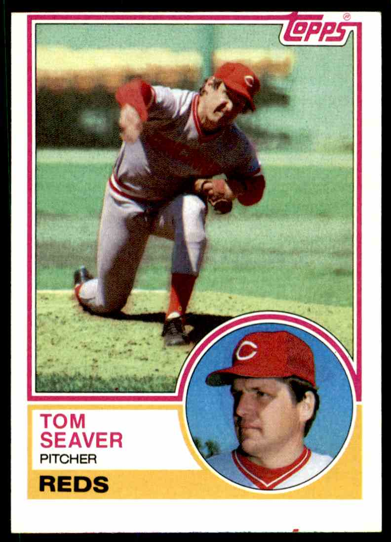1983 Topps Tom Seaver #580 card front image
