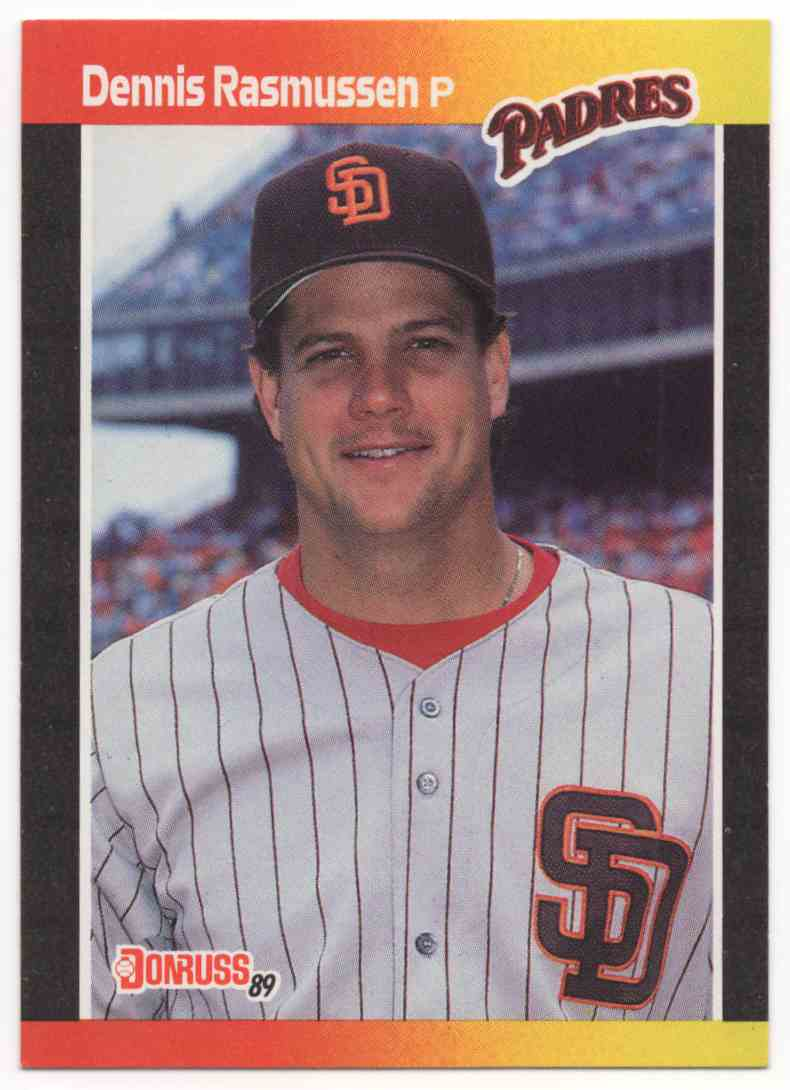 1989 Donruss Dennis Rasmussen Dp #559 card front image