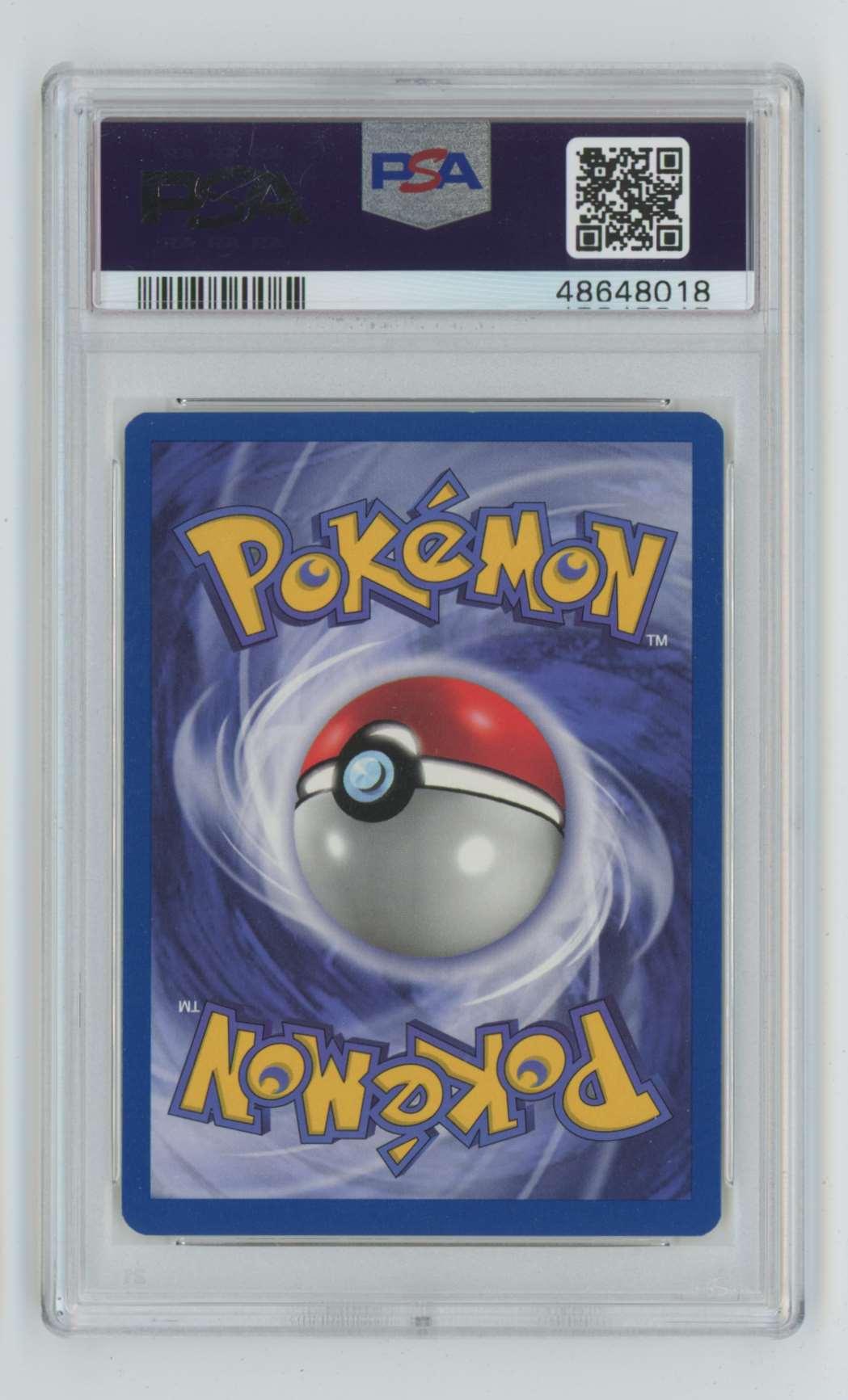 1999 Pokemon Jungle 1st Edition Exeggcute #52 card back image