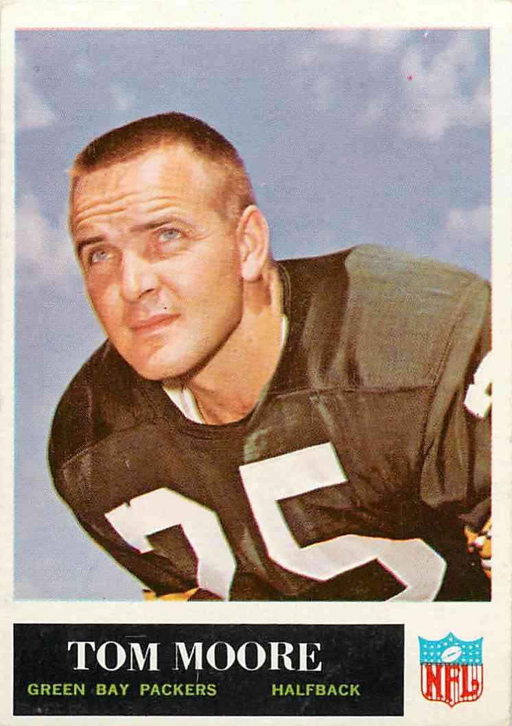 1965 Philadelphia Tom Moore #78 card front image