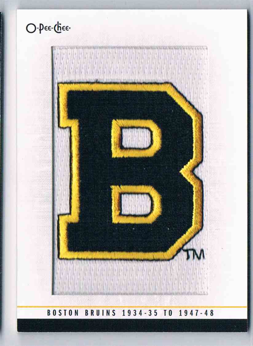 2013-14 Upper Deck O-Pee-CheeTeam Logo Patches 1934-35 To 1947-48 #178 card front image