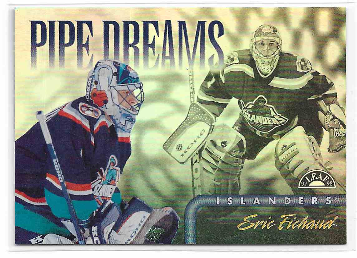 1997-98 Leaf Pipe Dreams Eric Fichaud #15 card front image