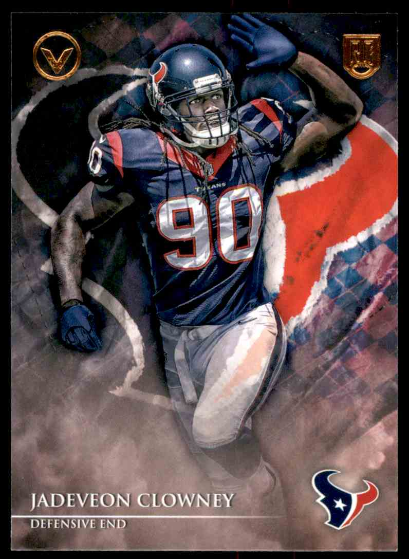 2014 Topps Valor Jadeveon Clowney RC #1 card front image