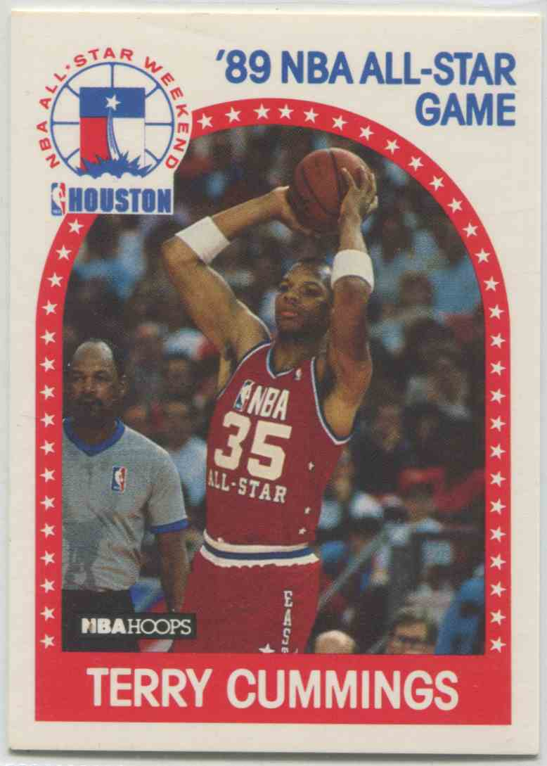 1989 90 NBA Hoops Terry Cummings 256 on Kronozio