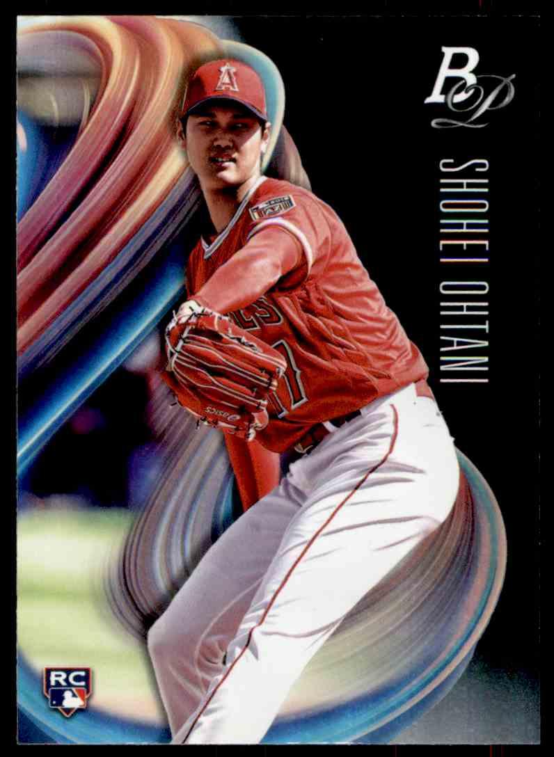 2018 Bowman Platinum Shohei Ohtani #34 card front image