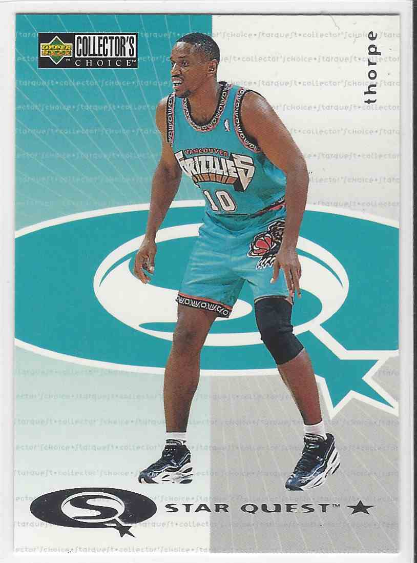 8b258626835c 1997-98 Upper Deck Collector's Choice Star Quest Otis Thorpe #SQ129 card  front image