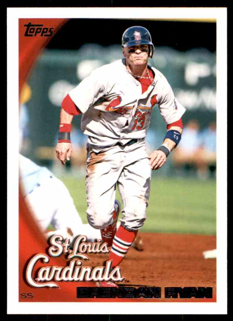 2010 Topps Brendan Ryan #596 card front image