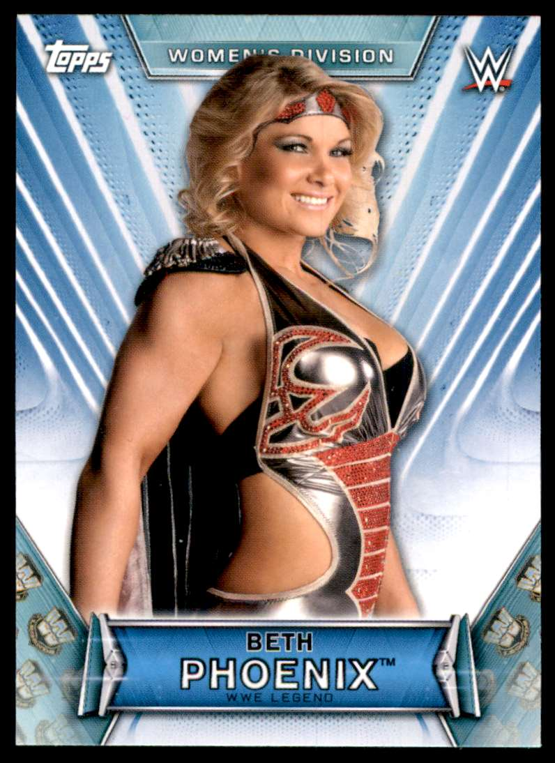 2019 Topps Wwe Women's Division Beth Phoenix #53 card front image