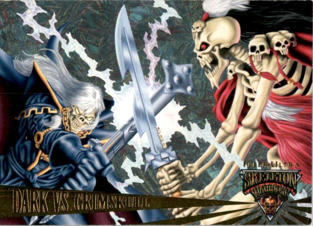 1995 Skeleton Warriors Ultra Dark Vs. Grimskull #78 card front image
